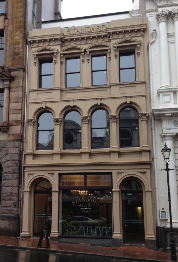Building brought back to original frontage